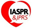 Red heart with white bubble inside containing the text IASPR & JPRS